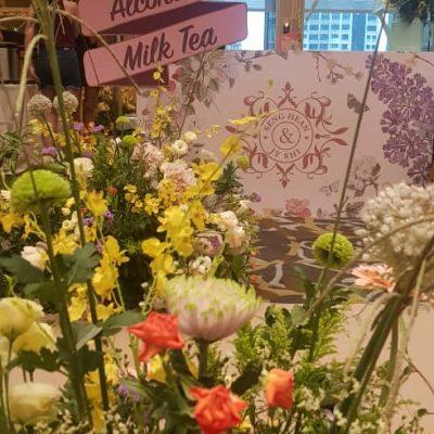 milk tea bar counter decorations Damansara