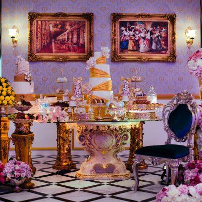 European classic royal dessert bar decorations KL