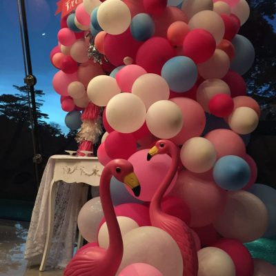 Dessert Bar decoration with balloon for event and wedding KL