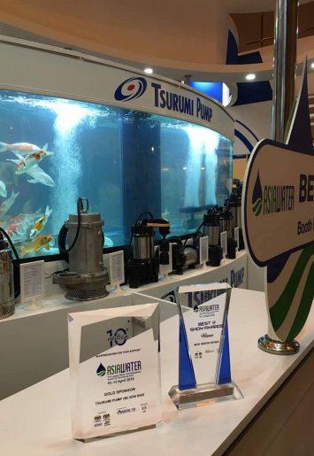 Tsurumi Pump at Asia Water Exhibition [Apr 2018] | Winner of Best Booth Design 00001