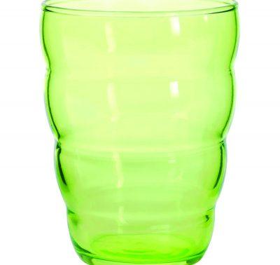 0372_t_Green Glass Tumbler