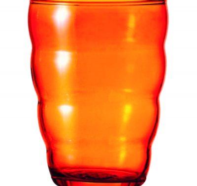 0504_t_Orange Drinking Glass