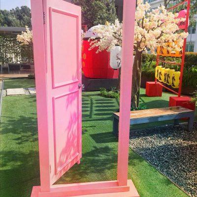 door display rental for event and weddings KL