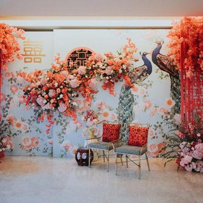Backdrop Design, conceptualize, planning service for wedding Damansara