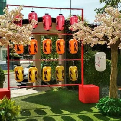 Photobooth design for chinese new year event - KL