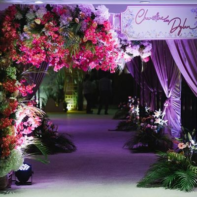 Fantastic flowery designed event and wedding KL