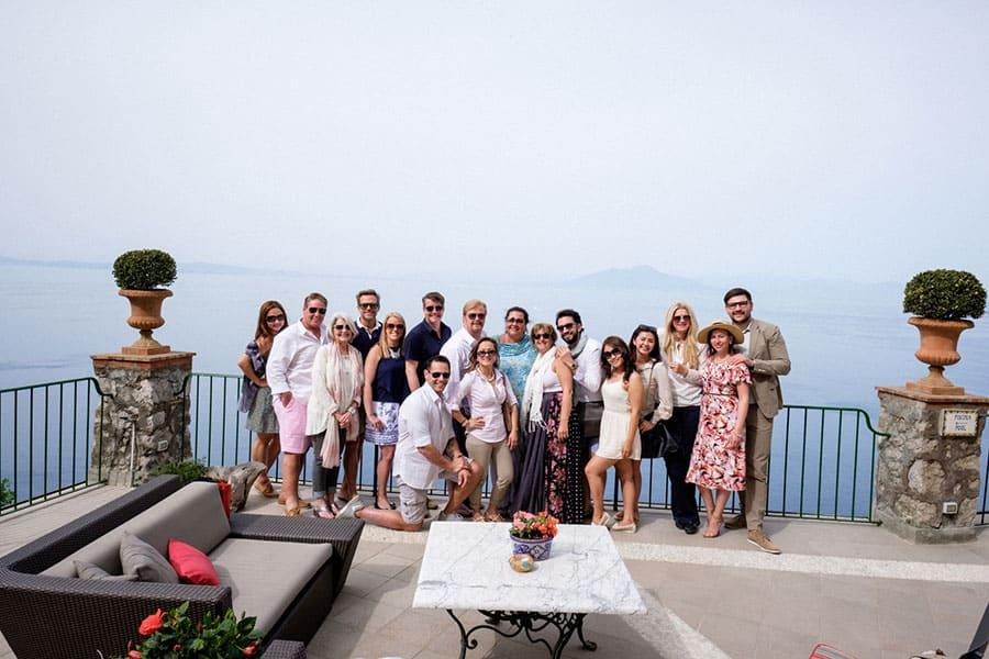 Capri family trip - event management team kl