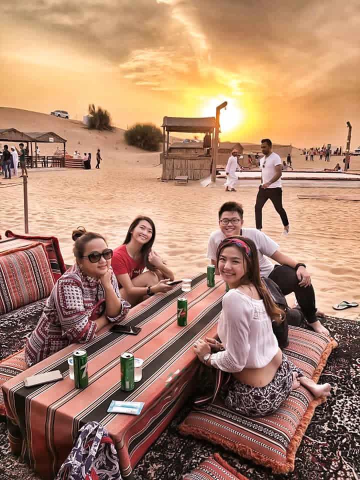 Company Trip Dubai - event management team selangor