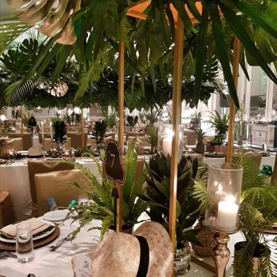 wedding decor and planning with tropicana theme KL