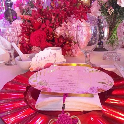 wedding table settings service KL
