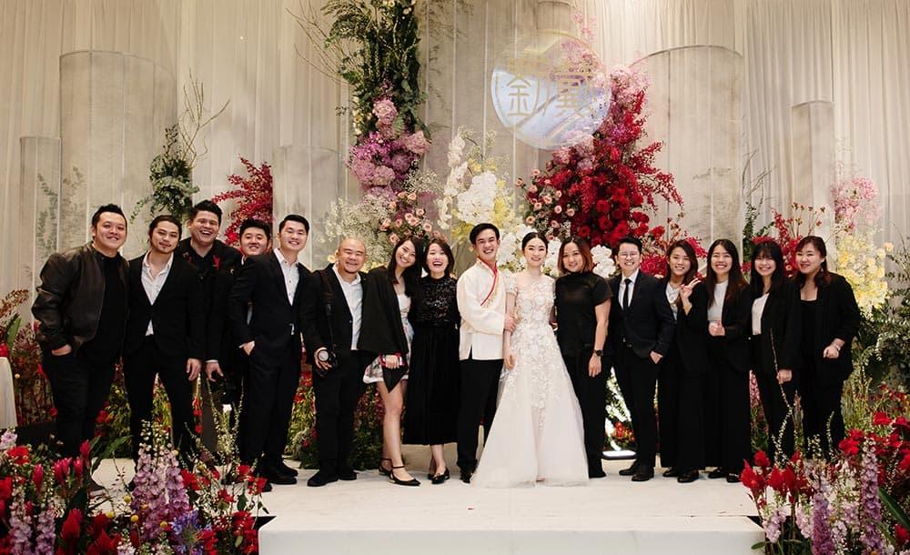 Wedding Dream Team for Xiong & Shin Nie