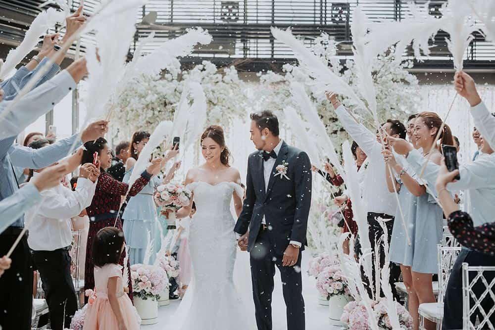 swan theme wedding planning kl