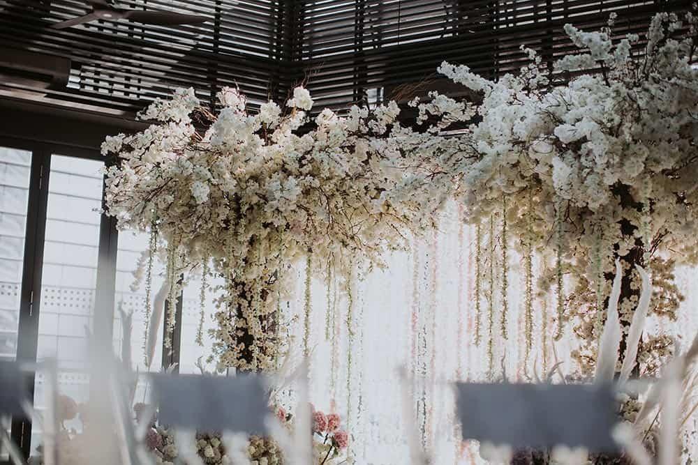 Wedding in Glasshouse Le Meridien KL-