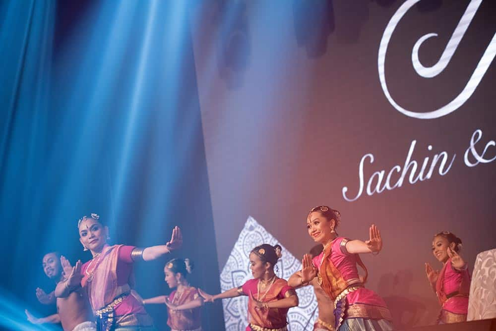 Indian wedding ceremony planner kl with traditional dance