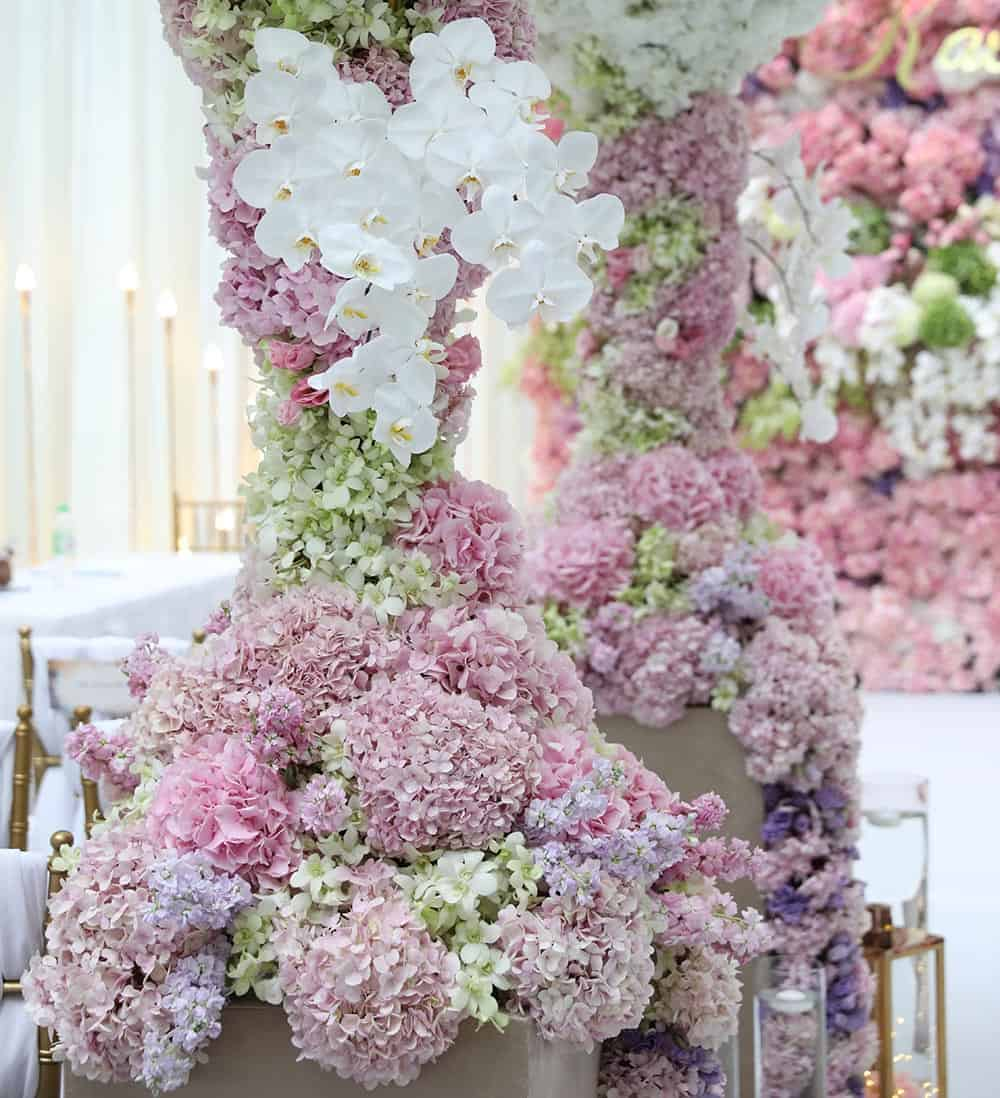 fantastic romantic wedding design malaysia 1