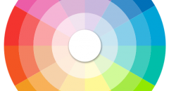 Colour Wheel by Disney Weddings.